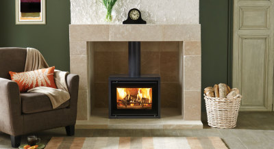 Stovax Riva Studio 500 Freestanding 5Kw Wood Burner