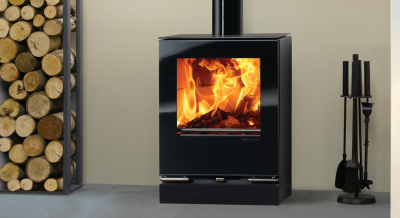 Stovax Riva Vision Small 5Kw Multi Fuel