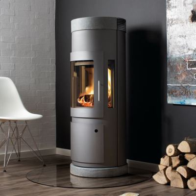 Uniq 16 100mm Soapstone 5Kw Wood Burner
