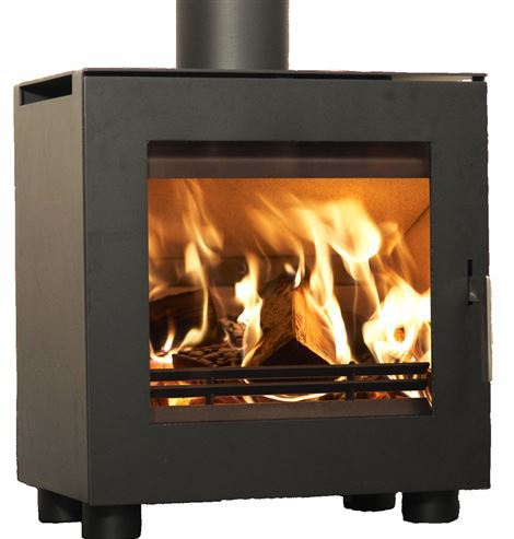 Westfire Uniq 23 50mm Legs 6.1Kw Wood Burner