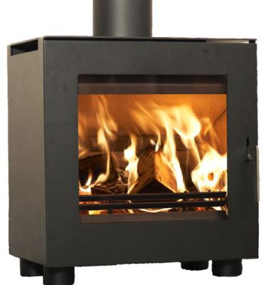 Uniq 23 50mm Legs 6.1Kw Wood Burner