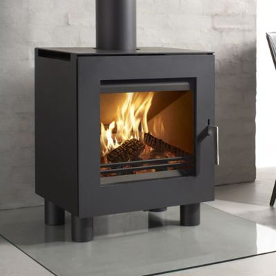 Westfire Uniq 23 100mm Legs 6.1Kw Wood Burner