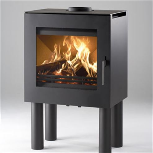Westfire Uniq 23 300mm Legs 6.1Kw wood Burner