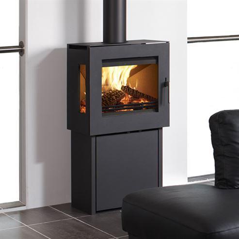 Westfire Uniq 23 Pedestal 2 6.1Kw Wood Burner