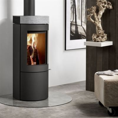 Uniq 26 100mm Soapstone 4.4Kw Wood Burner