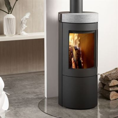 Uniq 27 100mm Soapstone 4.4Kw Wood Burner