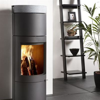 Uniq 28 100mm Soapstone 4.4Kw Wood Burner