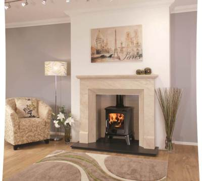 Newman Fireplaces Grande Vista 7.5Kw Multi Fuel
