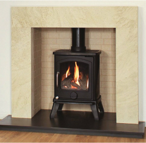 Newman Fireplaces Vista Quente 4.9Kw Multi Fuel