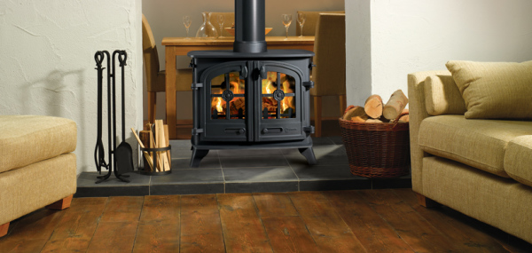 Exe Double Sided 11Kw Wood Burner