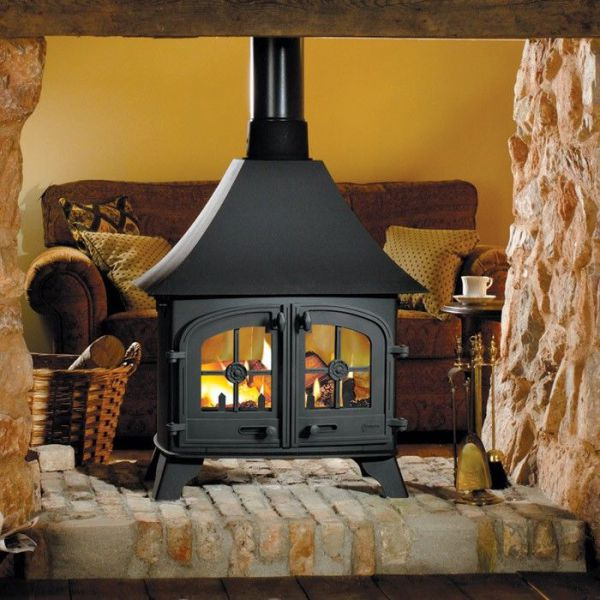 Devon Double Sided DD 13Kw Wood Burner