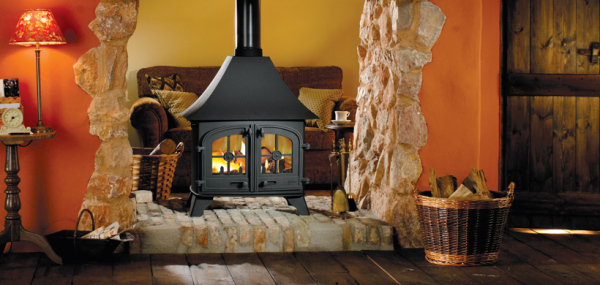 Country Double Sided 15Kw Wood Burner