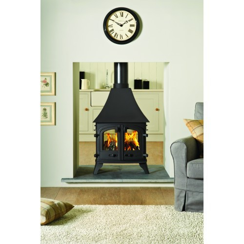 Devon Double Sided 9Kw Wood Burner