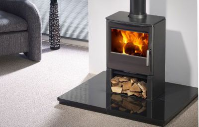 Capital Fireplaces Qube 450 4.5Kw Multi Fuel