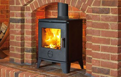 Capital Fireplaces Scene 490 5Kw Multi Fuel