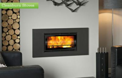 Capital Fireplaces Tucana 600 Inset 4.9Kw Wood Burner
