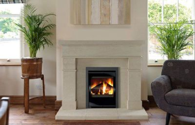 Capital Fireplaces Aquila 450 Contemporary Inset 4.5Kw Multi Fuel