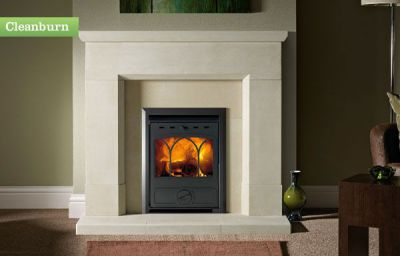 Capital Fireplaces Corvus 450 Traditional Inset 4.5Kw Multi Fuel