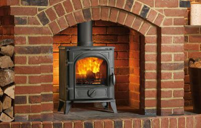 Capital Fireplaces Sigma 490 5Kw Multi Fuel