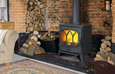 Capital Fireplaces Sigma 790 8.8Kw Multi Fuel