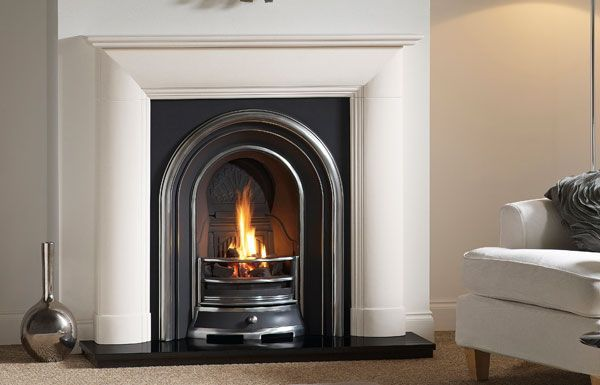 "Everley 48"" in Agean Limestone"