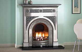"Fairburn 48"" Full Polished Cast Iron"