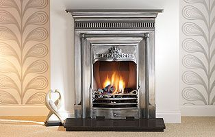 "Harewood 36"" Full Polished Cast Iron"