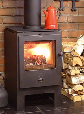 Heta Scanline 6 4.5Kw Wood Burner