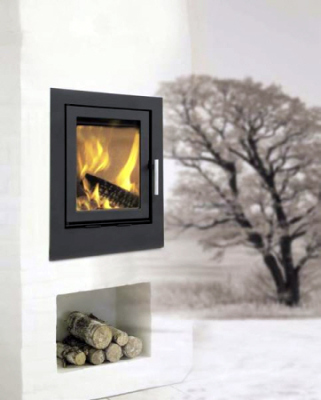 Heta Scanline 550 Inset 5Kw Wood Burner