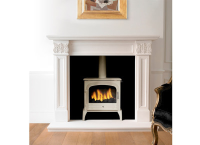 Acquisitions of London Bloomsbury Ivory 5Kw Multi Fuel