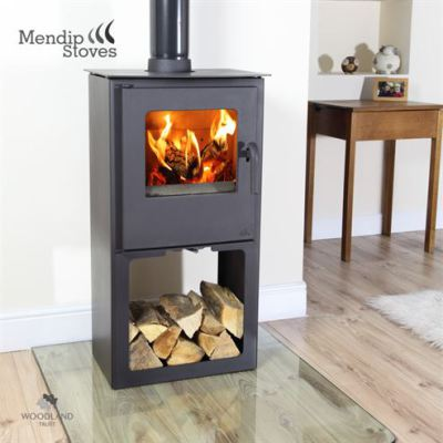 Mendip Loxton 6 SE Log Store 6Kw Multi Fuel