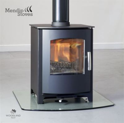 Mendip Churchill Double Sided 8Kw Multi Fuel