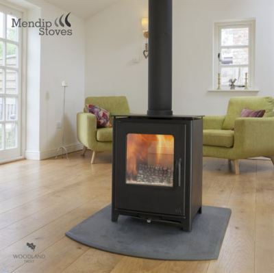 Mendip Loxton Double Sided 8Kw Multi Fuel