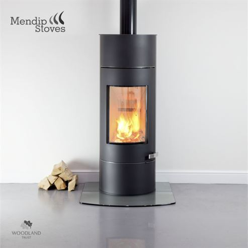 Mendip Somerton II SE Tall 7Kw Wood Burner