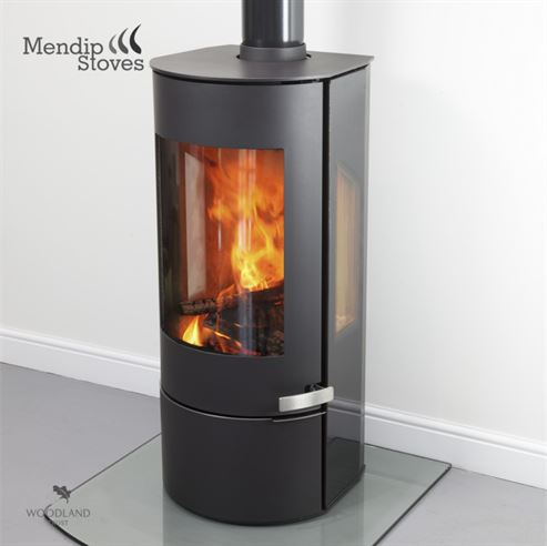 Mendip Somerton II Side Glass 7Kw Wood Burner