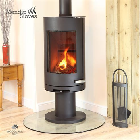 Somerton II Pedestal 7Kw Wood Burner