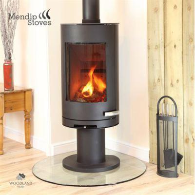 Somerton II Pedestal 7Kw Wood Burner