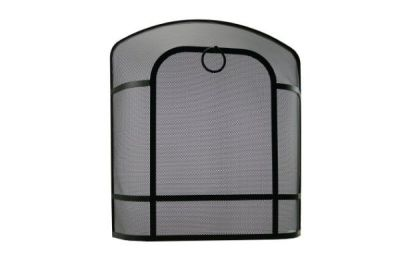Premium Dome fire screen Black from Capital Fireplaces