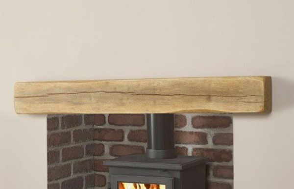 The Geocast Oak Light beam from Capital Fireplaces