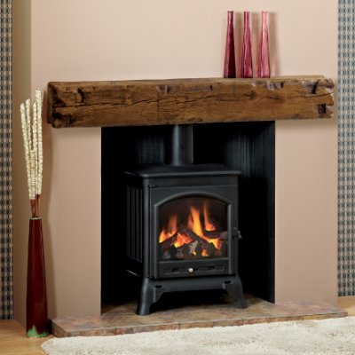 Great Beam from Focus Fireplaces