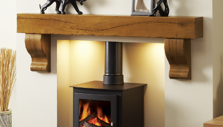 Deep Beam from Focus Fireplaces