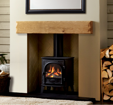 Large Facia Beam from Focus Fireplaces