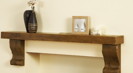 Standard Shelf from Focus Fireplaces