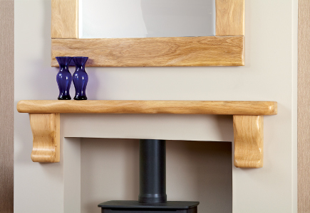 Large Shelf by Focus Fireplaces