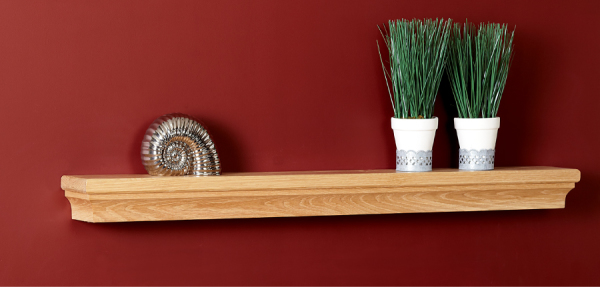 Canterbury Shelf from Focus Fireplaces