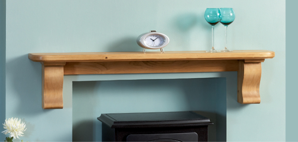 Plain Corbel Shelf from Focus Fireplaces