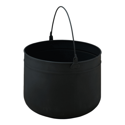 A large Black Coal Pail from Stovax
