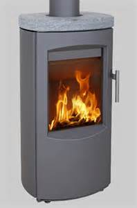Heta Scanline 7B Soapstone Top 4.5Kw Wood Burner