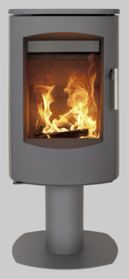 Scanline 7D Pedestal 4.5Kw Wood Burner
