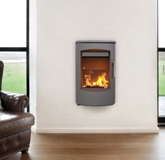 Heta Scanline 7C Wall Hang 4.5Kw Wood Burner
